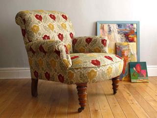 arts and crafts upholstery fabrics