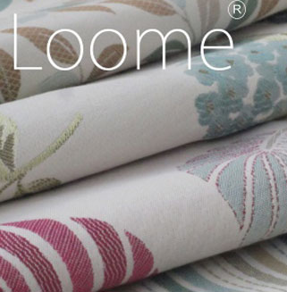 curtain fabric samples from Loome