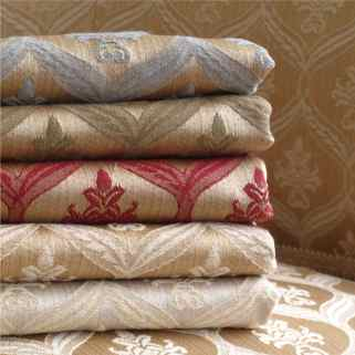 damask fabric from Loome