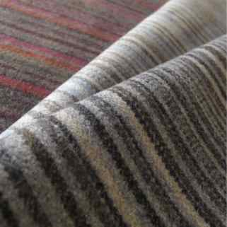 striped wool upholstery fabric