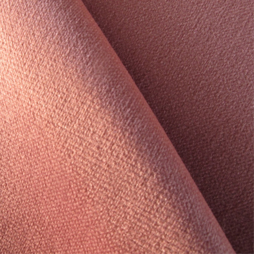 Plain Pink Velvet Curtain And Upholstery Fabric Oberon Dusty Pink