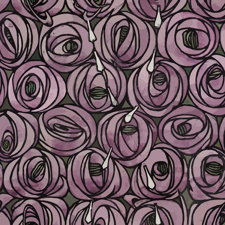 charles rennie mackintosh rose and teardrop images galleries with a bite. Black Bedroom Furniture Sets. Home Design Ideas