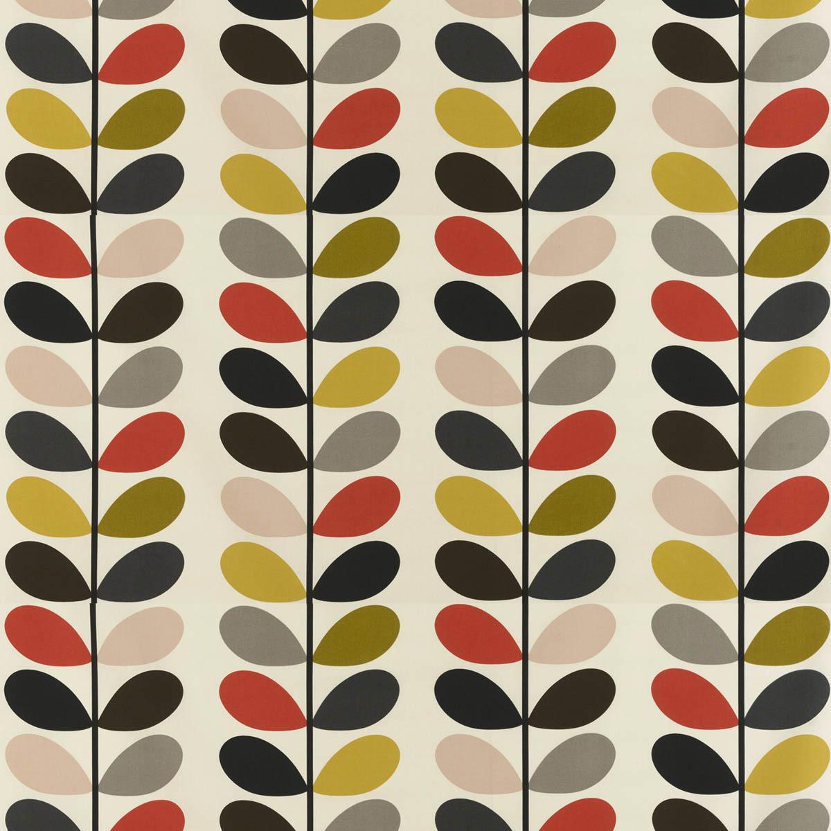 Orla Kiely Multistem Tomato Curtain Upholstery Fabric