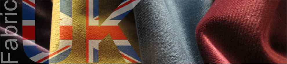 image of fabric with UK theme