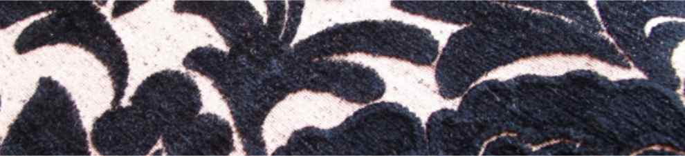 black velvet upholstery fabric