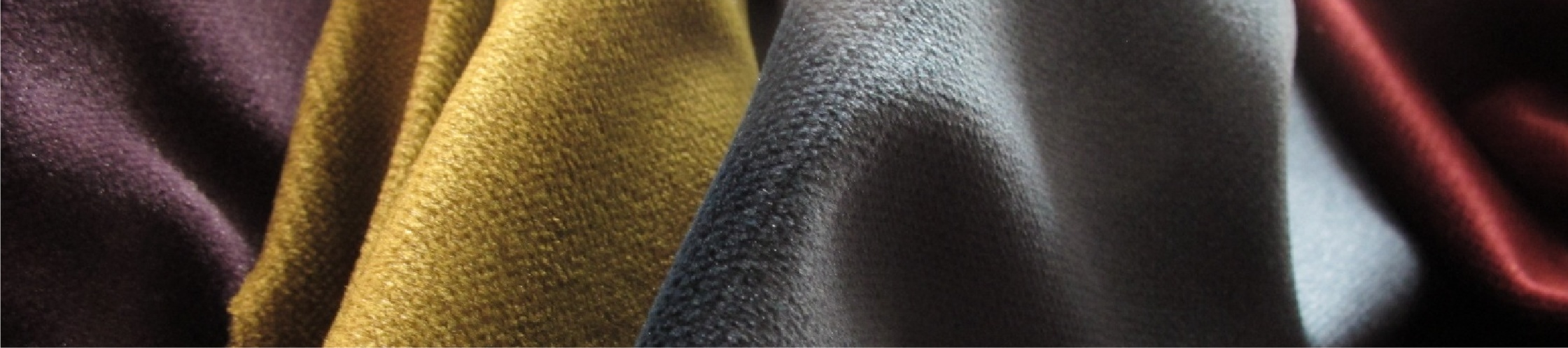 images of Oberon plain velvet fabric