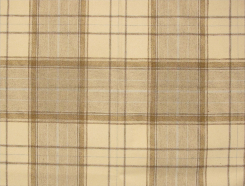 tartan curtain fabric - Iona plaid from Loome