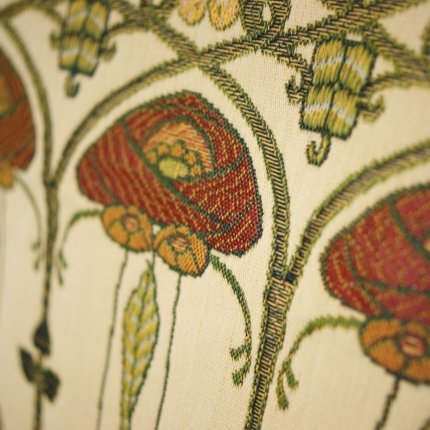 Charles Rennie Mackintosh Curtain And Upholstery Fabric