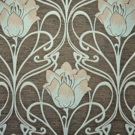 art deco art nouveau curtain and upholstery fabric art. Black Bedroom Furniture Sets. Home Design Ideas