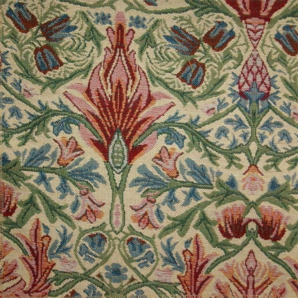 Arts and crafts curtain and upholstery fabric william for Arts and crafts stores near me