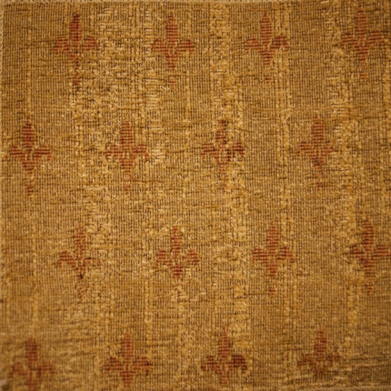 Celtic Medieval Gold Chenille Curtain And Upholstery